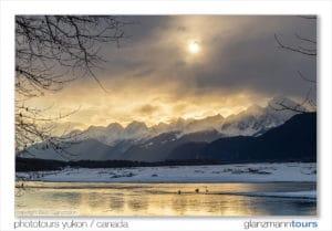 Fotoreisen Landschaftsfotografie mit Profifotograf Beat Glanzmann fotografieren Winter Alaska Yukon