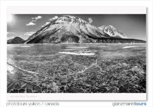 Kathleen Lake Photography Tours Kluane Yukon country in winter. Landscape picture Beat Glanzmann photo tours and workshop