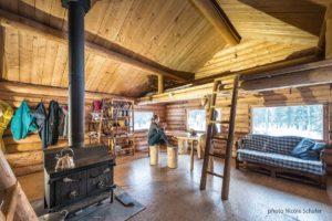 Kluane Blockhaus mieten Abenteuer Wildnis im Norden Yukon Kanada