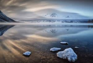 Landschaftsfotograf Beat Glanzmann fotografiert am Kathleen Lake im Kluane National Park, Yukon, Kanada