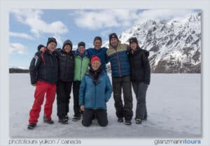 photography and snowshoe tour group guided photography Kluane country
