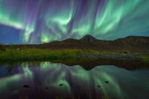Nordlichter fotografieren in Kleingruppen und Wildnis pur erleben. Spektakuläre Aurora Borealis im kanadischen Norden.