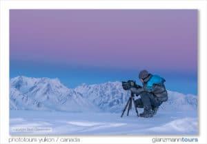 Simone Buchmueller Fotografin fotografiert Winter Fotoreisen im Norden