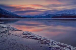 Landschaftsfotografie in der Eagle Preserve am Chilkat River, Haines Alaska auf Adlerfotoreise