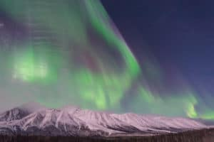 Northern Lights at Kluane National Park