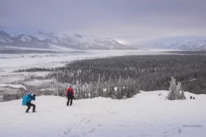 Fotoreisen im Yukon Kanada mit Profifotografen unterwegs am Sheep Mountain Kluane National Park