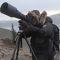 Urs Meier auf der bald eagle phototour, Yukon, Canada