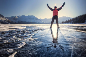 Kluane National Park Kathleen Lake Winterreisen