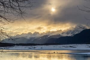 Winter Landscape Photo Eagle Festival Haines Alaska